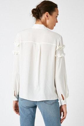 Koton Kadın Altın Çizgili Bluz 1KAK68764CW 3