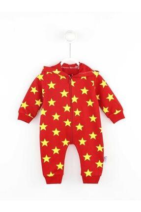 Picture of Erkek Bebek Kırmızı Tulum