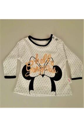 Hippıl Baby Kız Bebek Çocuk Kapüşonlu Yelekli Hello Desen Badili 3 Parça Takım-0313 2