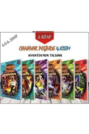 Beyaz Balina Yayınları Canavar Peşinde 4.kısım Avantia'nın Tılsımı 6 Kitap 0