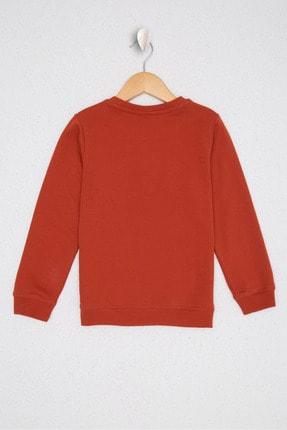 US Polo Assn Turuncu Erkek Çocuk Sweatshirt 1
