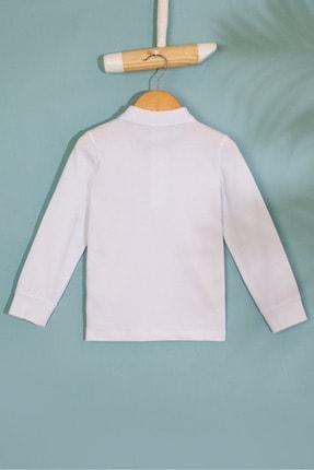 US Polo Assn Beyaz Erkek Çocuk Sweatshirt 1