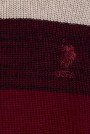 US Polo Assn Beyaz Erkek Çocuk Triko Kazak 2