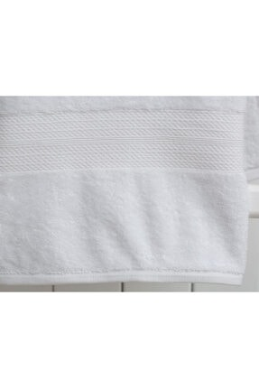 Madame Coco Roxane Banyo Havlusu - Beyaz - 90x150 Cm 1