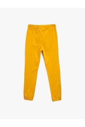 Koton Erkek Çocuk Sarı Normal Bel Eşofman Altı 1