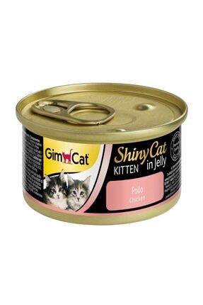 Gimcat Shinycat 8 Adet Tavuklu Konserve Yavru Kedi Maması 70 Gr Arda036 0