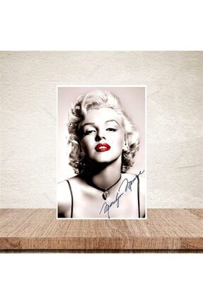 TAKIFİX Marilyn Monroe 20-30 Cm Retro Ahşap Poster 0