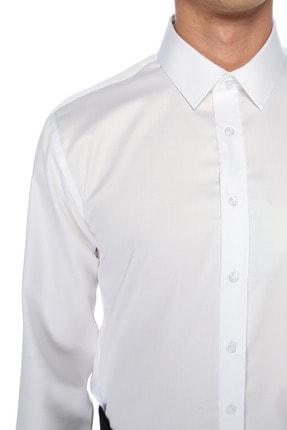Network Erkek Beyaz Gömlek 1075275 3
