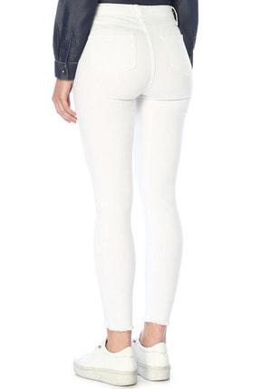Network Kadın Optik Beyaz Denim Pantolon 1074636 2