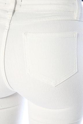 Network Kadın Optik Beyaz Denim Pantolon 1074636 3