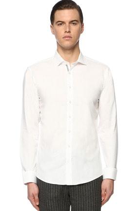 Network Erkek Beyaz Gömlek 1071090 0