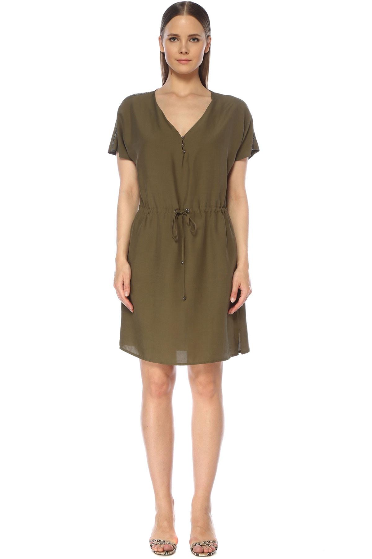 Kadın Haki Elbise 1075258