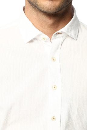Network Erkek Beyaz Gömlek 1074028 3