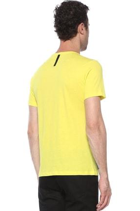 Network Erkek Sarı Tshırt 1074391 2
