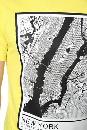 Network Erkek Sarı Tshırt 1074391 3