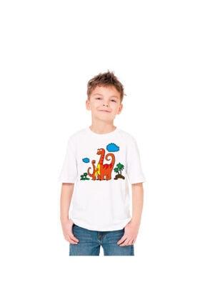 paint-wear Dinazor Ailesi Boyama T-shirt 7-8 Yaş 2