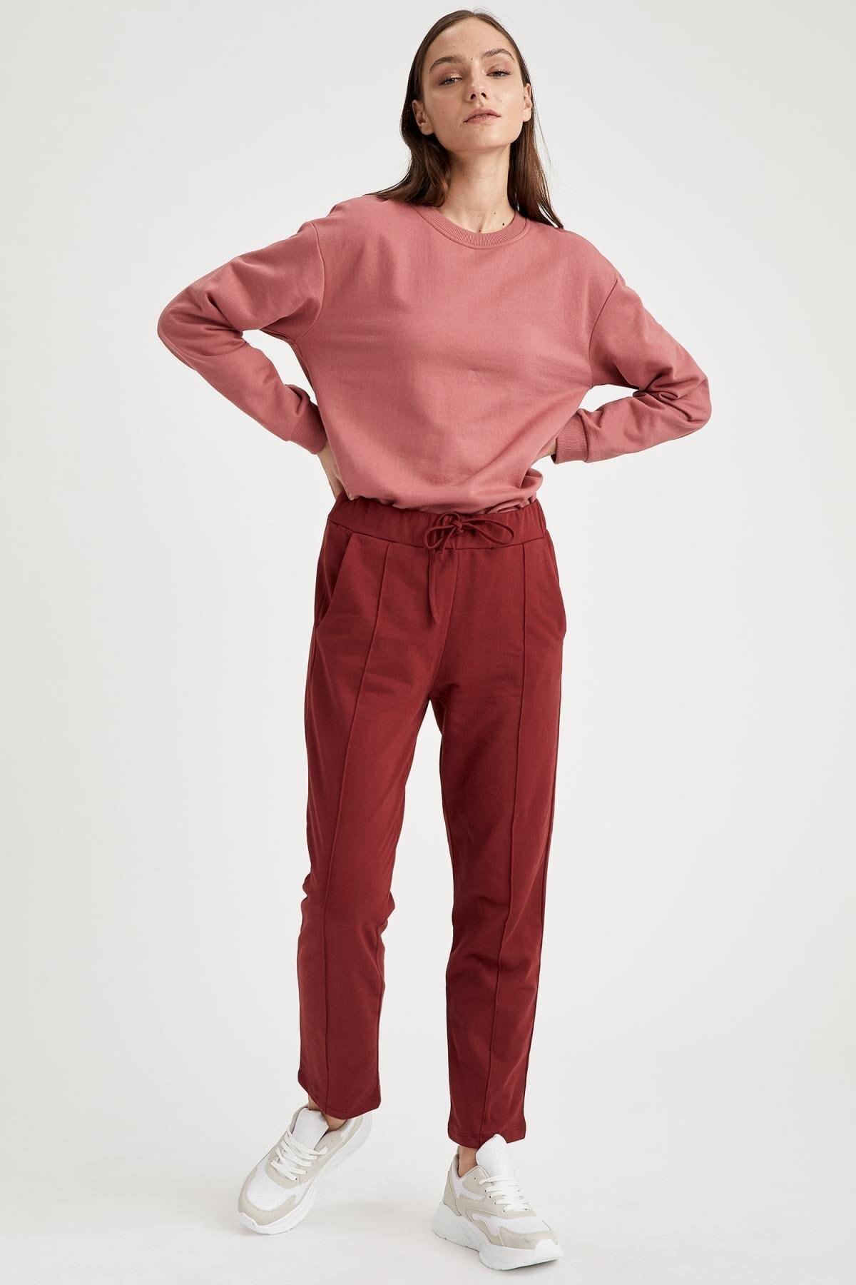 Defacto Yarım Düşük Omuz Sweatshirt 1