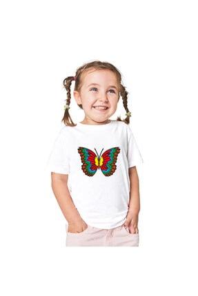 paint-wear Kelebek Boyama T-shirt 9-11 Yaş 2