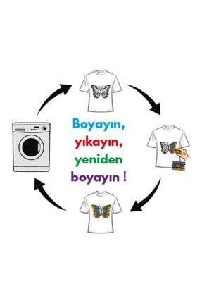 paint-wear Kelebek Boyama T-shirt 9-11 Yaş 4