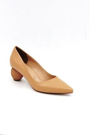Tessera Kadın Bej Stiletto Ayakkabı 1