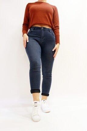 Eva 9028-88 Likralı Yüksek Bel Kadın Kot Pantolın resmi