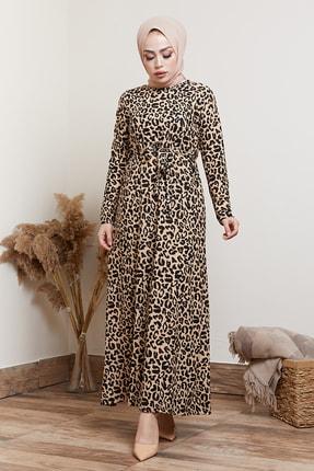 MODAEFA Kadın Siyah Elbise 0