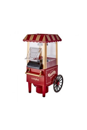 Cookplus Kırmızı Mısır Patlatma Pop Corn Makinesi 1