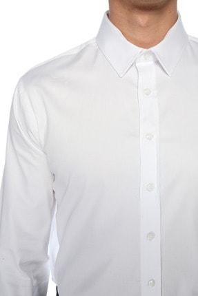 Network Erkek Beyaz Gömlek 1078091 3