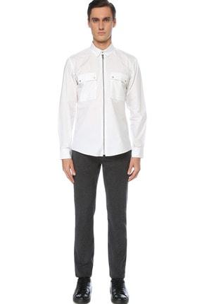 Network Erkek Beyaz Gömlek 1076256 1