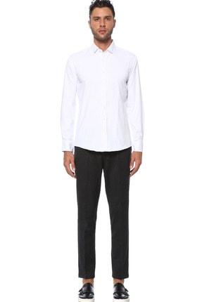 Network Erkek Beyaz Gömlek 1077283 1