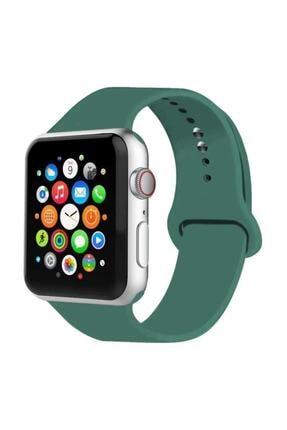Wotechs Apple Watch  2 3 4 5 Seri 42 mm Ve 44 mm Silikon Kordon Kayış 0