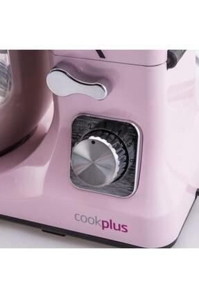 Cookplus Quick Chef 1001 Stand Mikser 1000W Mutfak Şefi Pink 2