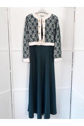 Kadın Zümrüt Elbise MH202025
