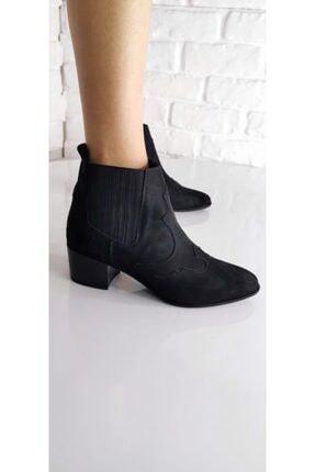 Kadın Siyah Topuklu Ayakkabı 2241s 2241-inci