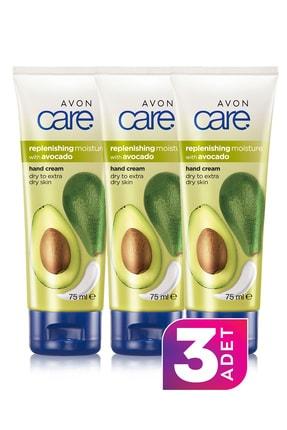 Avon Care Avokado Özleri İçeren El Kremi 75ml 3'lü Paket 0