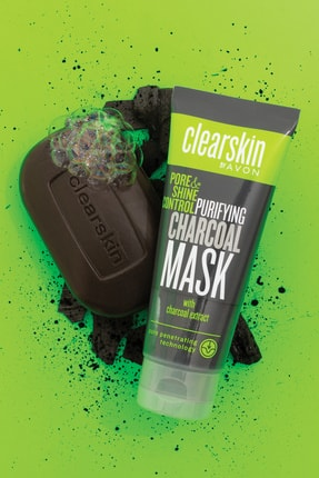 Avon Clearskin Kömür İçeren Maske + Kömür İçeren Sabun Seti 0
