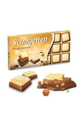 Schogetten Trilogia Fındıklı Çikolata 100 Gr 0