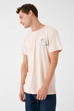 Koton Erkek Pembe T-Shirt 1KAM11165CK 1
