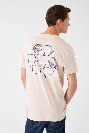 Koton Erkek Pembe T-Shirt 1KAM11165CK 3