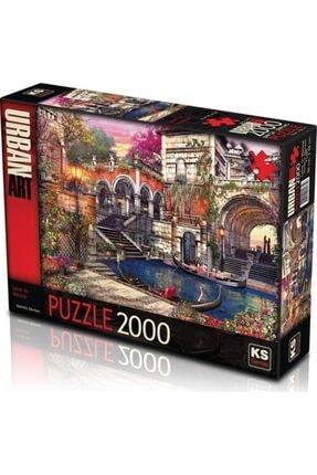 2000 Parça Puzzle Lakeside Cottage 2000'lik Puzzle po8697418012750
