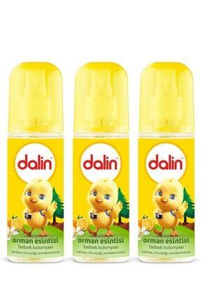Dalin Bebek Kolonyası Orman Esintisi 150 ml X 3 Adet 0