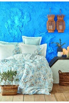 Karaca Home Charlina Mavi Çift Kişilik Pike Takımı 0