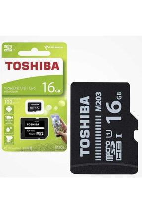 Toshiba Uhs-1 C10 16 Gb Micro Sdhc Hafıza Kartı 100mb/sn 0