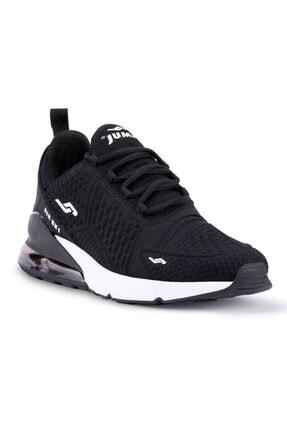 Jump Erkek Siyah Beyaz Anatomik Spor Ayakkabı 24883 1