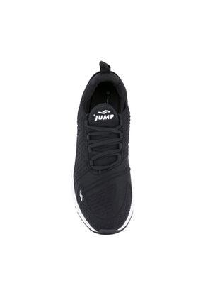 Jump Erkek Siyah Beyaz Anatomik Spor Ayakkabı 24883 2