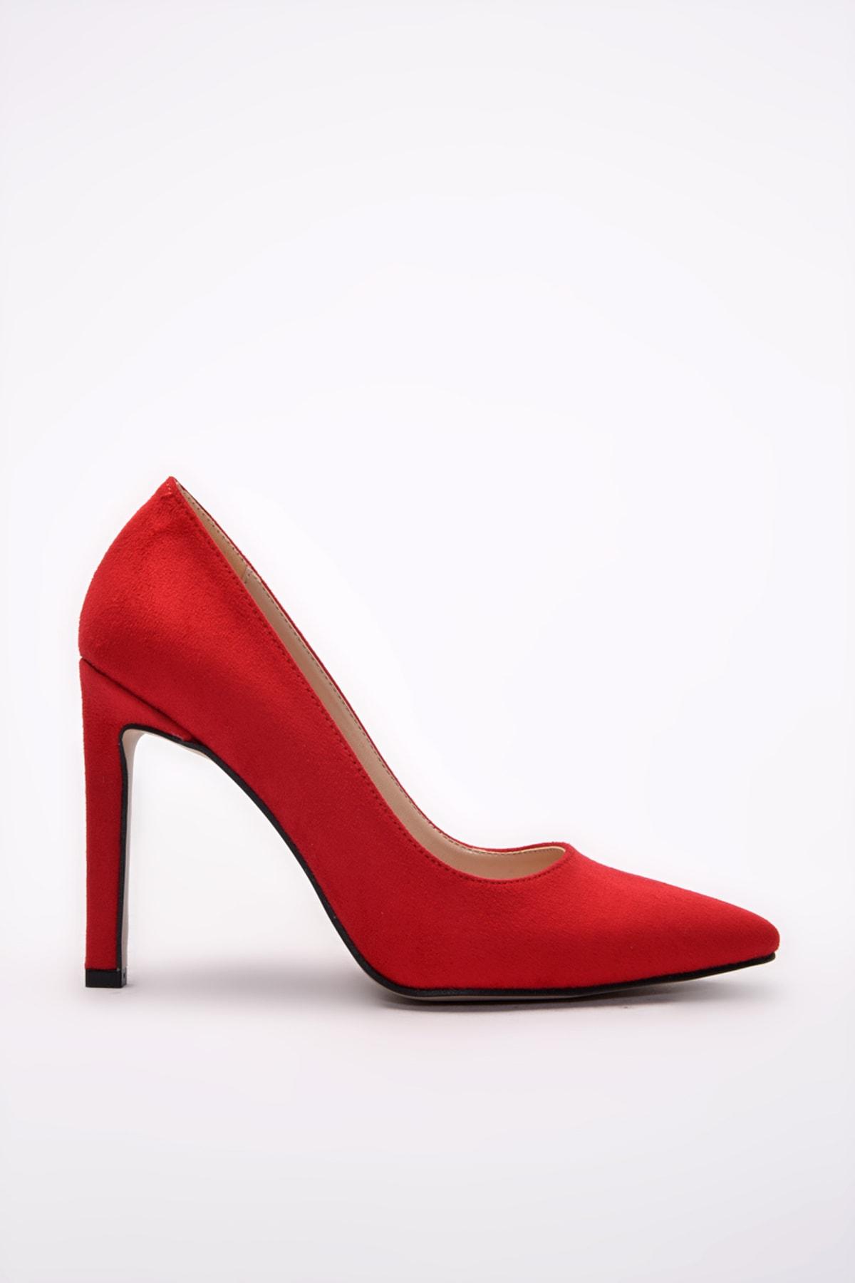 Yaya  by Hotiç Yaya by Hotiç Kirmizi Kadın Klasik Topuklu Ayakkabı
