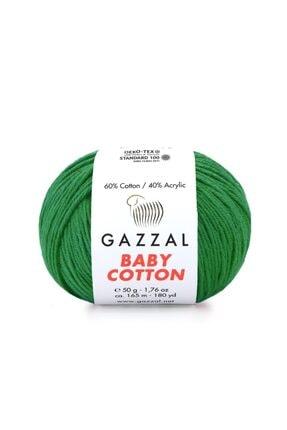 Zedhobi Gazzal Baby Cotton 3456 El Örgü Ipi Amigurumi Ipi 50gr 0