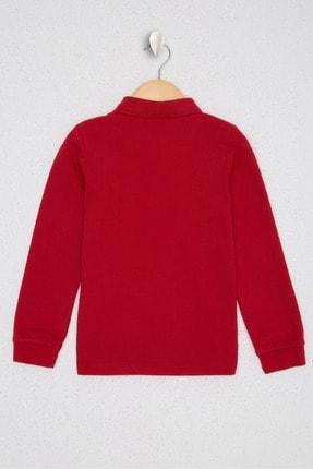 US Polo Assn Kirmizi Erkek Çocuk Sweatshirt 1