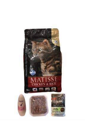 Matisse Matıse Tavuk Ve Pirincli 1,5 Kg Kedi Maması 0