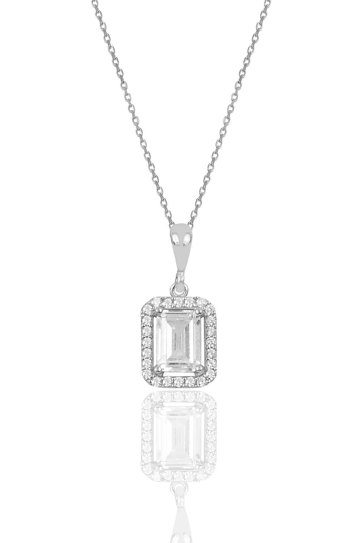 Söğütlü Silver Gümüş Baget Taşlı İkili Set Sgtl10059Rodaj 1